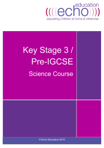 KS3 Biology Complete Course