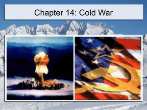 Cold War - Mrs. Rostas