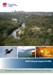 NSW Climate Impact Profile - Adapt NSW Home