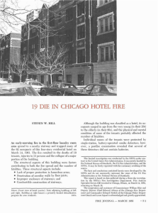19 die in chicago hotel fire