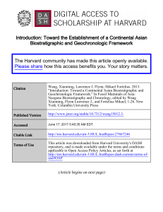 Introduction: Toward the Establishment of a Continental Asian