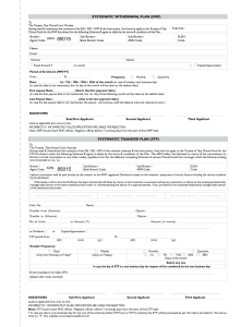 STP Form - Shreem Wealth Creators