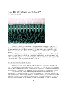 How Do Christmas Lights Work?