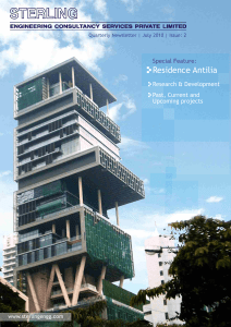 Residence Antilia - Sterling Engineering Consultancy Services Pvt Ltd
