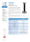 Datasheet TD90-MC tandelta test system pdf version for