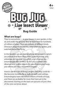 Bug Jug® Manual