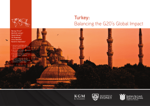 Turkey: Balancing the G20`s Global Impact
