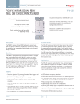 passive infrared dual relay wall switch occupancy sensor