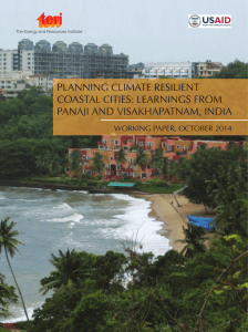 Planning Climate Resilient Coastal Cities: leaRnings fRom