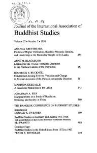 Politics of Higher Ordination, Buddhist Monastic Identitiy, and