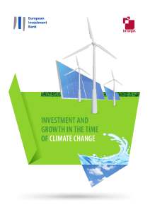 Investment and growth in the time of climate change