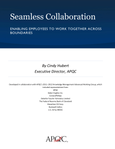Seamless Collaboration