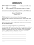 2017-2018 Financial Responsibility Form