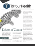 Drivers of Cancer