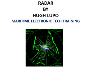 RADAR BY HUGH LUPO