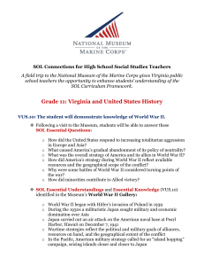 Grade 11: Virginia and United States History