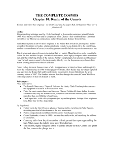 THE COMPLETE COSMOS Chapter 10: Realm of the Comets