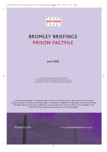 bromley briefings prison factfile