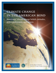 climate change in the american mind