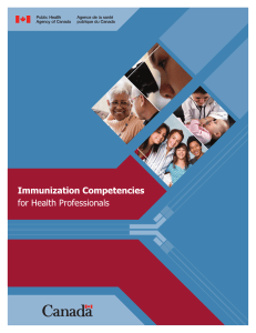 Immunization Competencies for Health Professionals