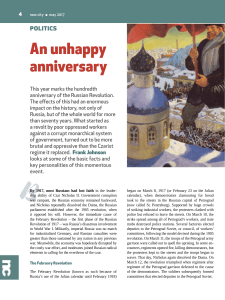 An unhappy anniversary