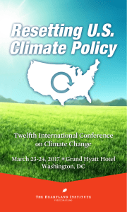 to the Program - International Conference on Climate