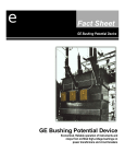 GE Bushing Potential Device