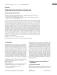 Phytosterols as anticancer compounds
