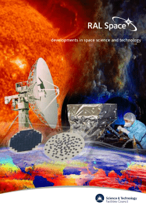 RAL Space brochure - Science and Technology Facilities Council