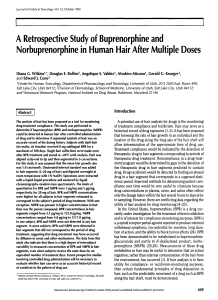 A Retrospective Study of Buprenorphine and