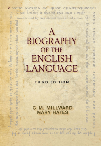 6. A Biography of the English Language, 3rd Edition
