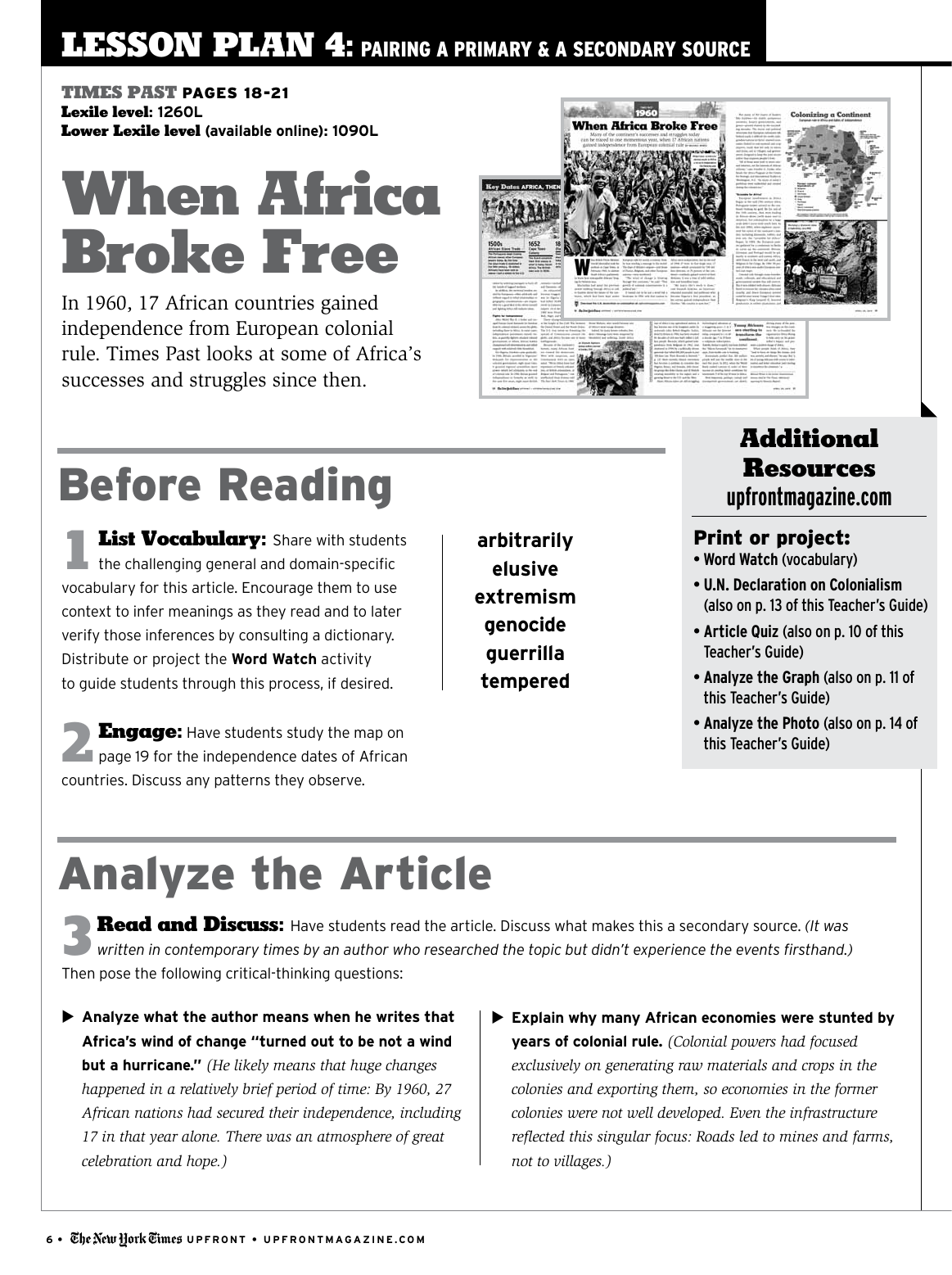 When Africa Broke Free