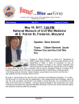 of the Blue and Gray - Frederick County Civil War Roundtable
