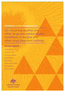 National Comorbidity Guidelines 2nd edition