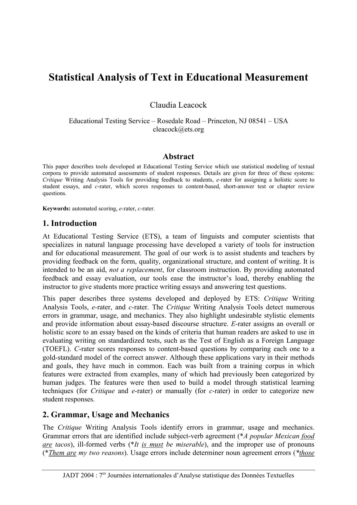 critical review pdf