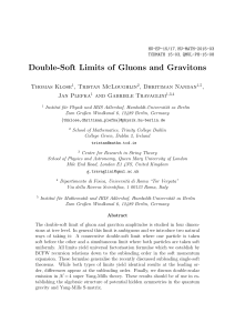 Double-Soft Limits of Gluons and Gravitons
