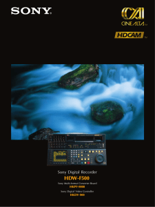 HDW-F500 - GRS Systems