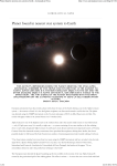 Planet found in nearest star system to Earth » Astronautical News
