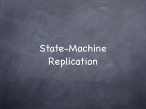 State-Machine Replication