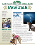 2014-3 Summer Newsletter - East Valley Animal Clinic