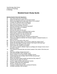 Skeletal Exam Study Guide