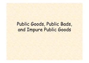 impure public goods