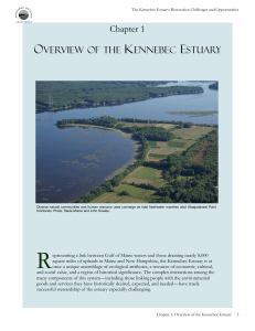 Estuary Chpt. 1 - Overview of the Kennebec Estuary
