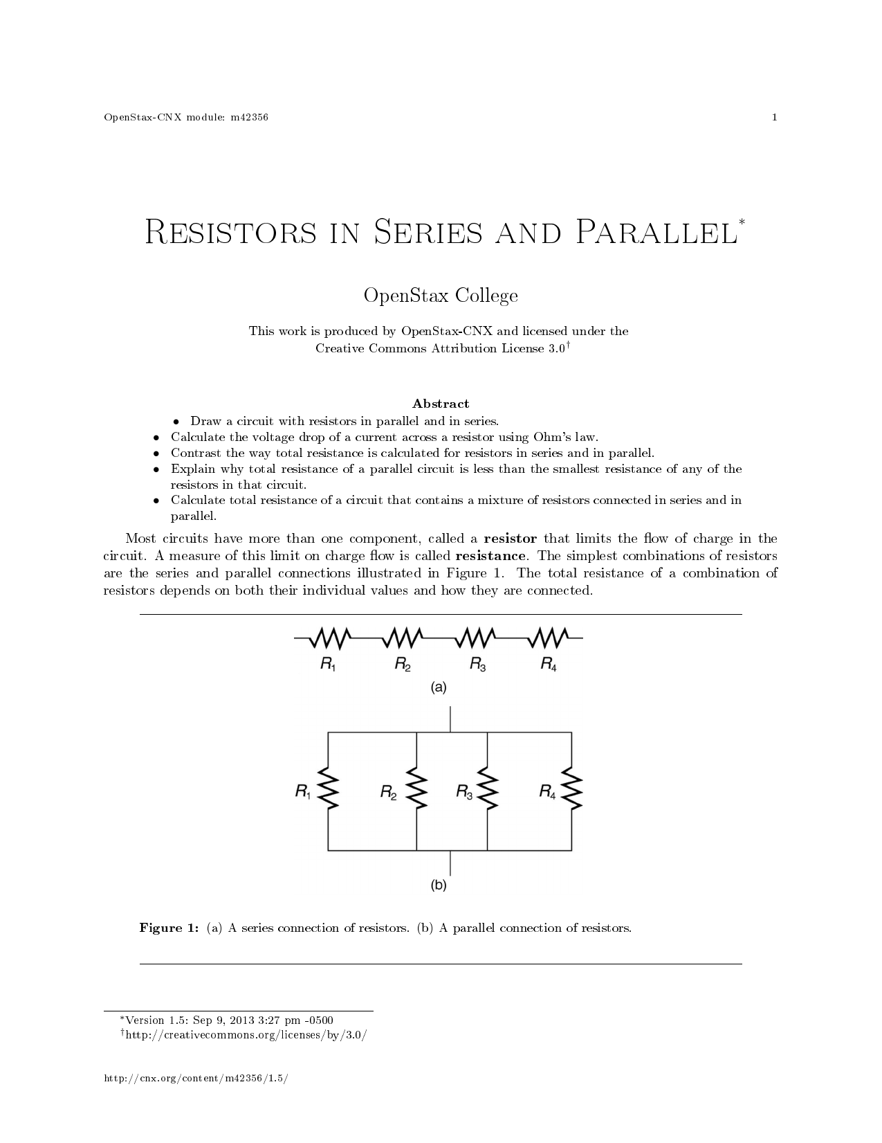 Resistors In Series And Parallel Circuit How Can The Total Resistance Of A