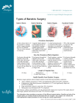 Types of Bariatric Surgery - Bridges Center for Surgical Weight