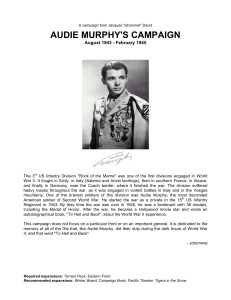 audie murphy`s campaign