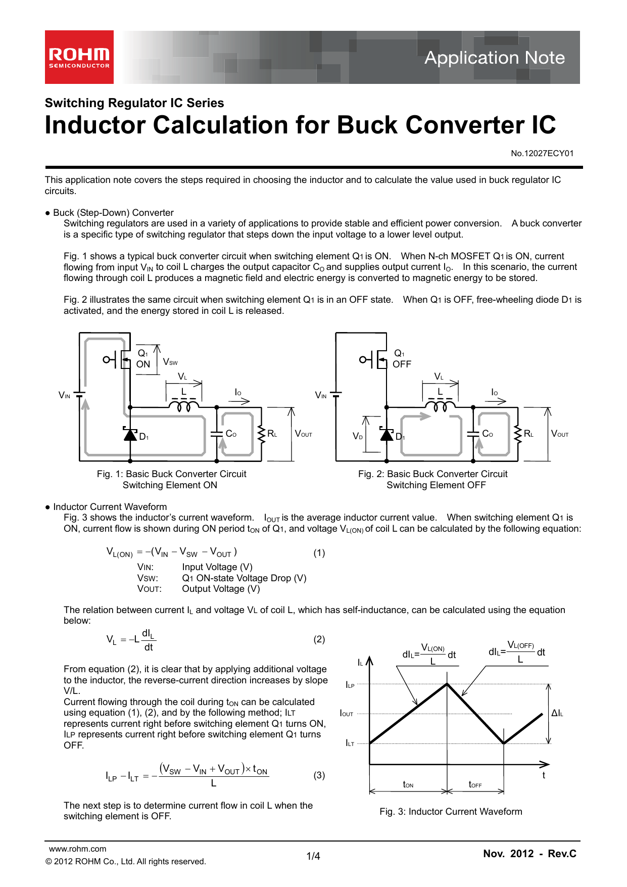 Inductor Calculation For Buck Converter Ic Fig 4 Boost Evaluation Circuit