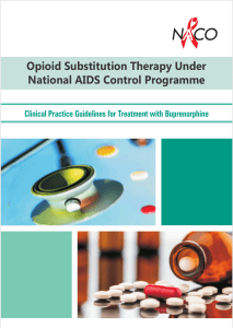 Opioid Substitution Therapy Under National AIDS Control