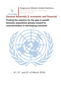 General Assembly 2: economic and financial