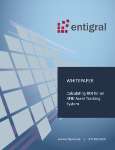 Calculating ROI for an RFID Asset Tracking System